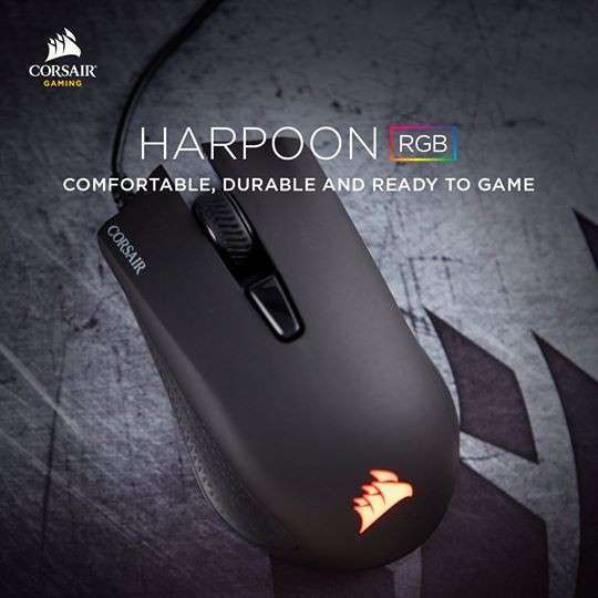 Mouse Corsair Harpoon RGB - 0