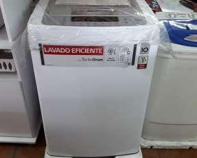 Lavarropa automática LG de 9 kilos