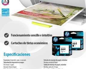 Impresora multifuncional hp deskjet 2135 impresora/copiado