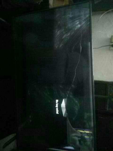 Televisor LG 42 pulgadas con fisura en pantalla