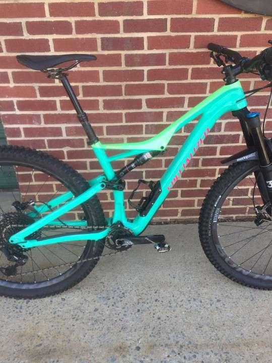 Bicicleta 2018 Specialized Men's Turbo Levo FSR Comp Carbon 6Fattie/29 - 1