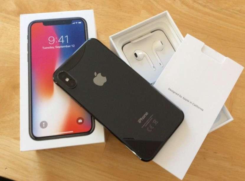 Apple iphone X 256GB (Unlocked) - 0