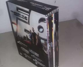 Colección Dvd's originales F&F y Resident Evil
