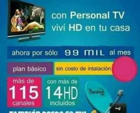 Personal Tv instalación gratis