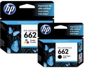 Tintas HP 662 originales