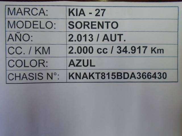 Kia Sorento 2013 motor 2000 diésel - 9