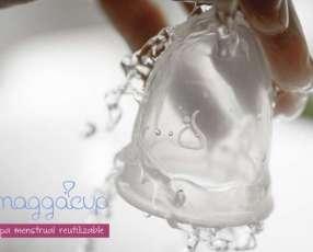 Copa menstrual Maggacup reutilizable y atóxica