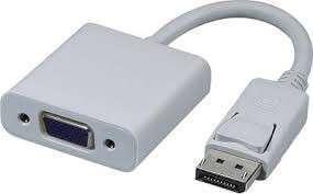 Adaptador DisplayPort a VGA - 0