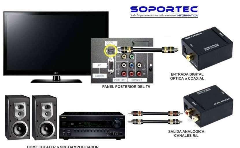 Conversor de audio digital a analógico - 1