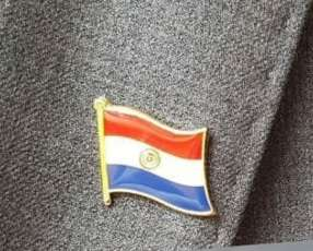 Pin de la bandera Paraguaya