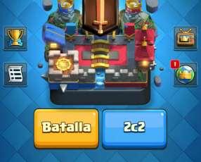 Correo con cuenta de clash of clans th11 y clash royale nivel 12