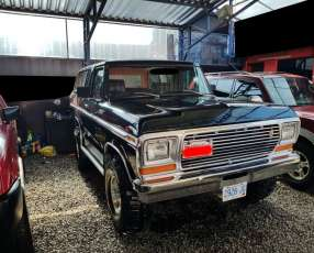 Ford Bronco 1979 naftero mecánico