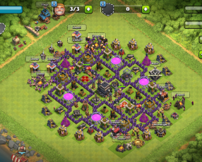 Royale nivel 10 6 legendarias y coc nivel 100