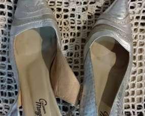 Zapato de cuero de Mongomery