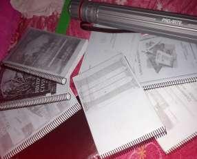 Libros y algunos elementos para el CPA de Arquitectura UNA