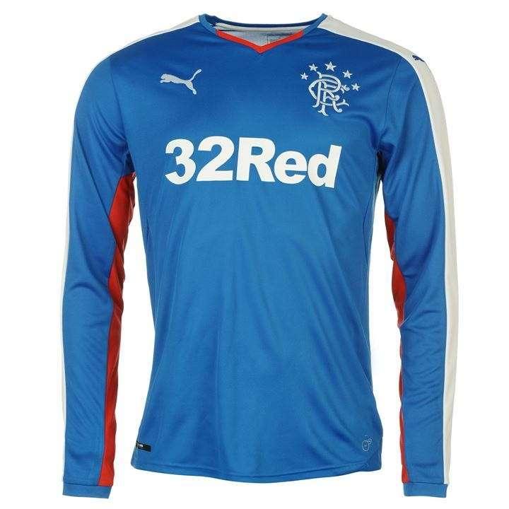 Camiseta mangas largas Ranger FC de Escocia