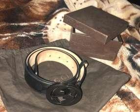 Cinto GUCCI Autentico (Triple black matte)