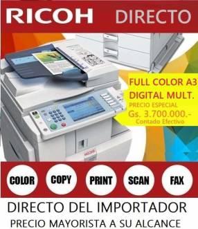 Impresora digital láser Ricoh aficio
