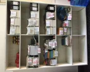 Estante y lote de libreria