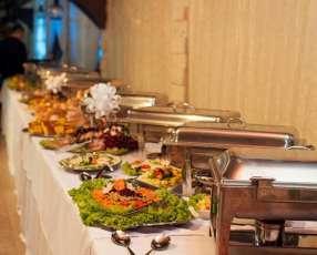 Buffet para eventos y alquileres en general