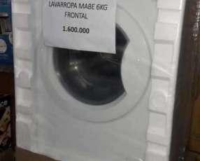 Lavarropa automática Mabe de 6 kilos carga frontal
