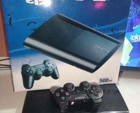 Playstation 3 de 500 gb nuevo en caja con 22 juegos cargados