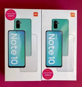 Redmi Note 10 de 64gb nuevos, sellados