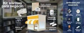 6 Sensores de apertura kit alarma - 0
