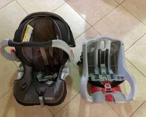 Baby seat gracco con base para el auto hasta 18 kg
