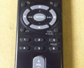 Control para autorradio Sony