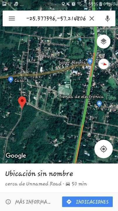 4 Terrenos juntos o separados en la ciudad de Ypacarai km45