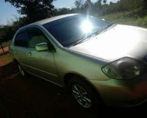 Toyota Corolla 2001 motor 1500 vvti naftero automático