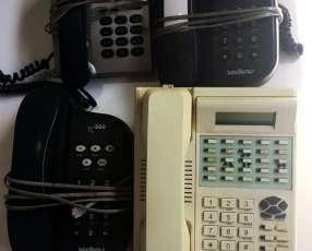 Central telefónica y teléfonos