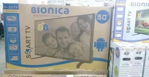 TV LED Smart Bionica 50 pulgadas - 0