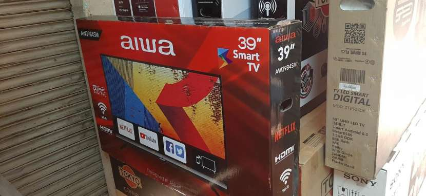 TV LED Smart aiwa 39 pulgadas - 0