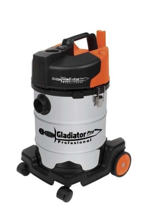 Aspiradora industrial seco húmedo 30 litros 1200w Gladiator