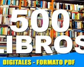 500 Libros Digitales - Grandes Clásicos de la literatura