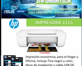 Impresora económica hp 1115