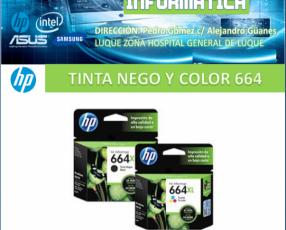Tinta hp 664 xl