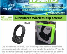 Auriculares Wireless Klip Xtreme