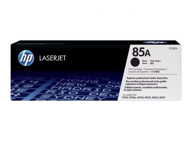Cartucho original de tóner negro HP 85A LaserJet CE285A - 0