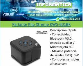 Parlante Klip Xtreme KWS-601BK
