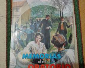 Libro Memorias del Oratorio Don Bosco