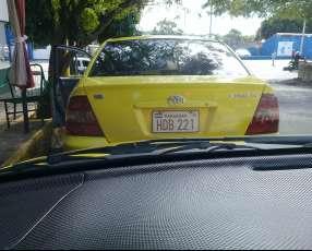 Parada de Taxi Disponible