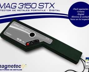 Paleta detector de metal guardia seguridad