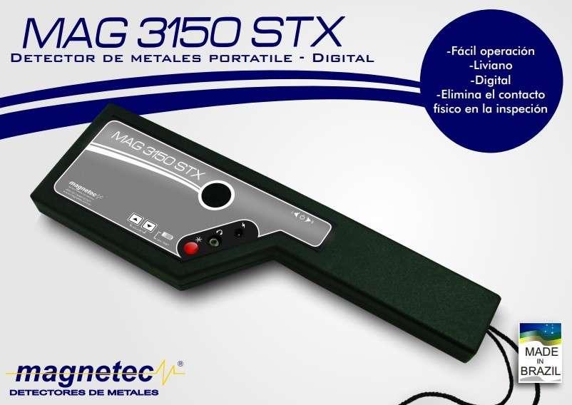 Paleta detector de metal guardia seguridad - 0