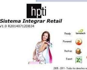 Sistema Integrar Retail - Software para Minoristas