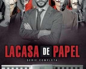 La Casa de Papel - Serie completa - Temporada 1 y 2