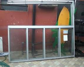 Puerta de aluminio 2, 20cm x 2m