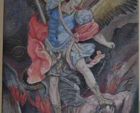Cuadros religiosos al oleo en Xilopintura